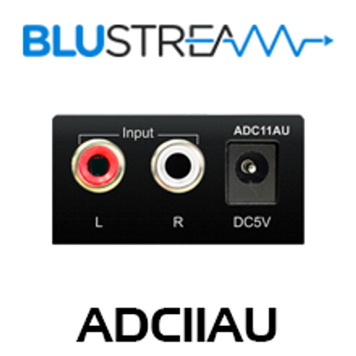 BluStream ADC11AU Analogue to Digital Audio Converter
