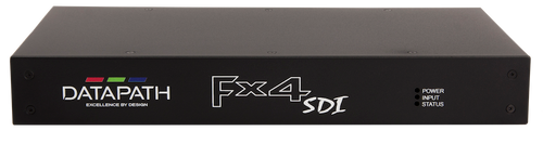 Datapath FX4-SDI 4K Display Wall Controller with 4 SDI Output