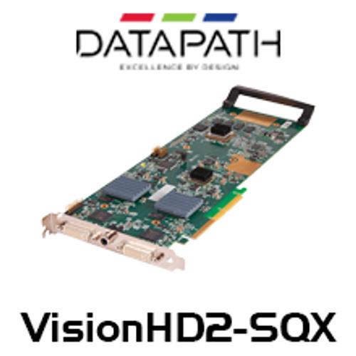 Datapath VisionHD2-SQX 3 Channel SQX IP Encoder HD Capture Card