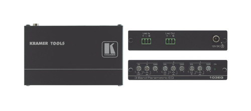Kramer 103EQ 3-Band Parametric Equaliser