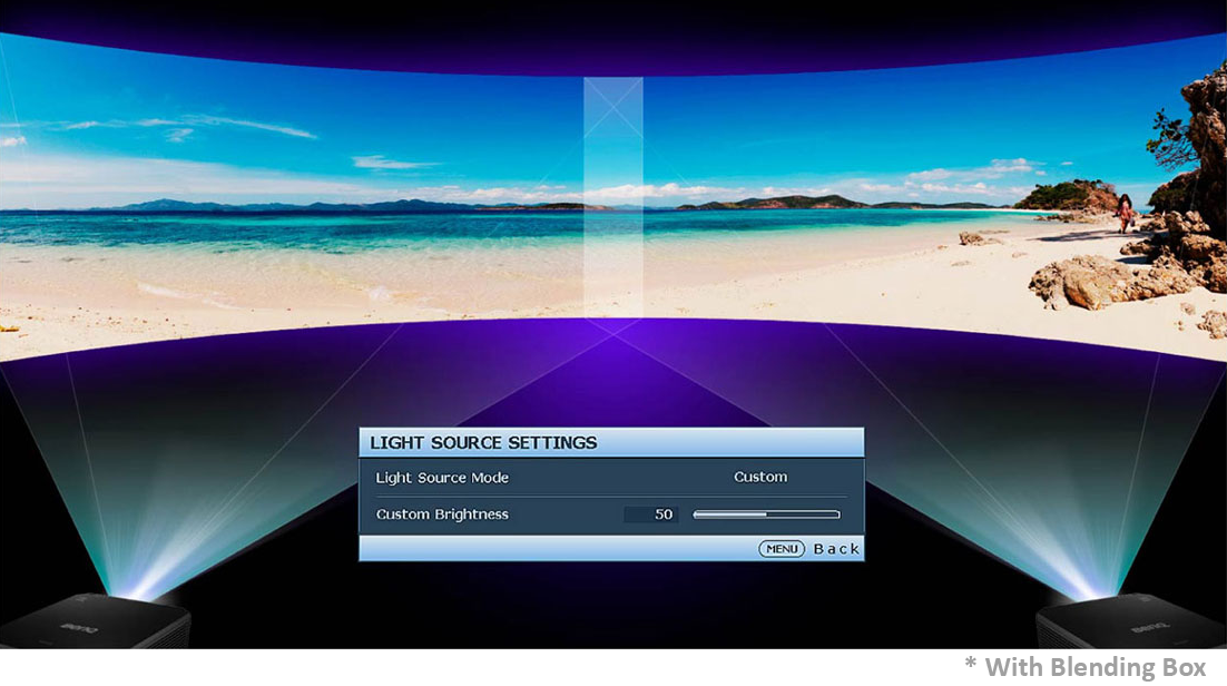 Ensure Consistent Brightness Blending with Custom Light Mode