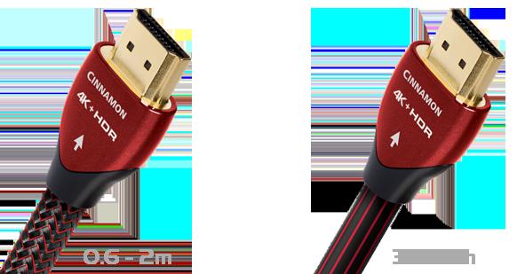 AudioQuest Cinnamon 4K UHD HDR HDMI 2.0 Lead