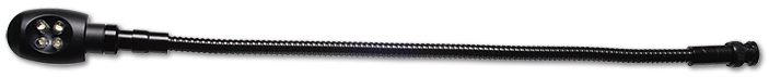 AVA 12VDC BNC 350mm Gooseneck LED Lamp