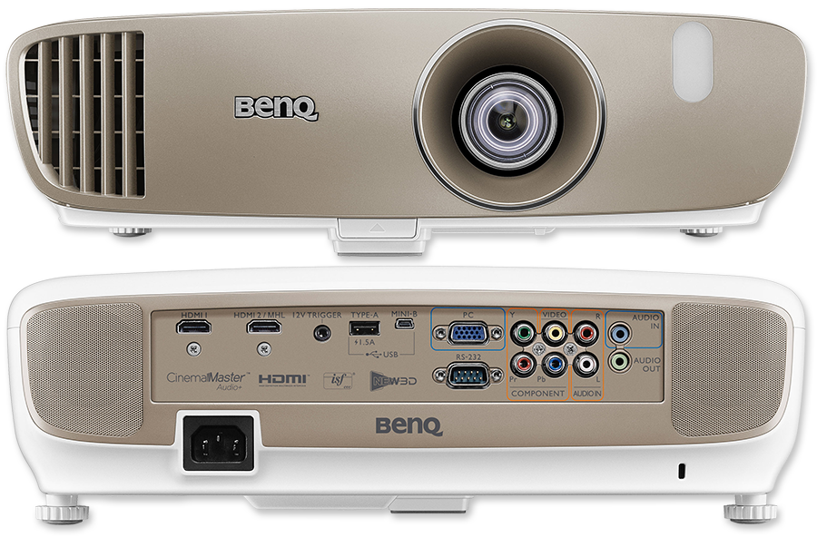 BenQ W2000 Full HD 2000 Lumen Rec.709 3D Wireless DLP Home Projector