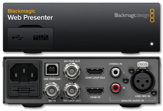 Blackmagic Web Presenter Av Australia Online