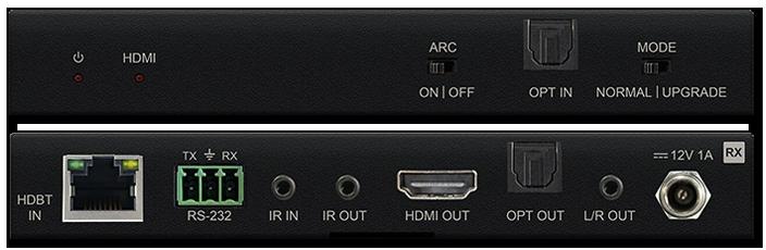 BluStream RX70CS 4K HDR HDMI 2.0 CSC HDBaseT ARC Receiver
