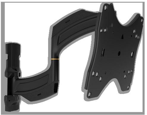 """Chief TS218SU 26-47"""" Medium Thinstall Dual Swing Arm TV Wall Mount"""