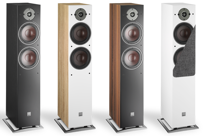 "Dali Oberon 7 Dual 7"" Large Floorstanding Speakers"