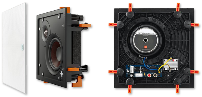 """Dali Phantom H-50 5.25"""" In-Wall / In-Ceiling Loudspeaker"""