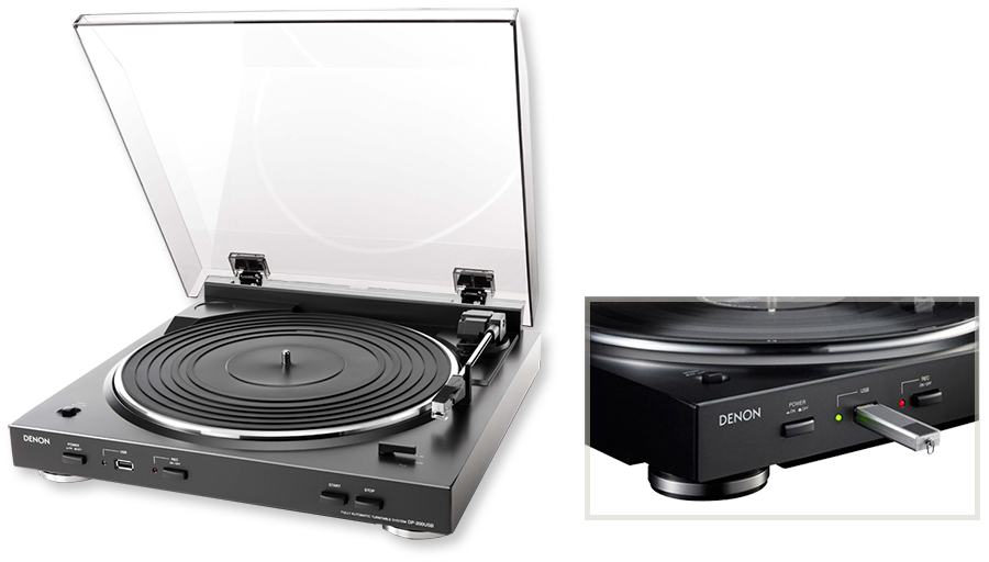Denon DP200USB Fully Automatic Analog Turntable With USB