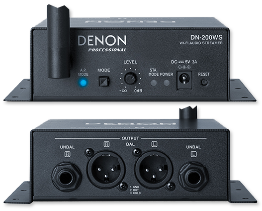 Denon Pro DN200WS WiFi Audio Streamer With DLNA & AirPlay