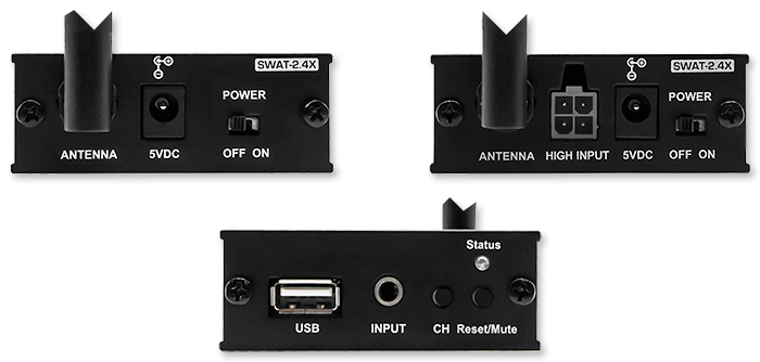 EarthQuake SWAT-2.4X Wireless Audio Transceiver
