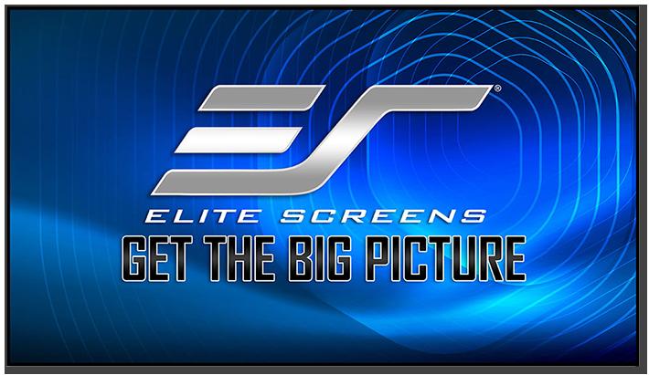 Elite Screens Aeon CLR 2 Edge Free 16:9 Fixed Frame Projection Screen