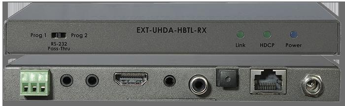 Gefen 4K UHD HDMI Over HDBaseT Receiver w/ Audio De-Embedder & PoH