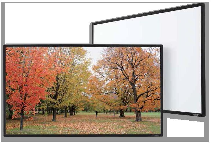 Grandview Edge 4K Premium Fixed Frame Projection Screens