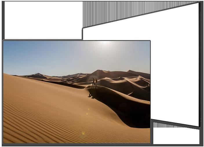 Grandview Edge Premium 12mm Bezel Fixed Frame Projection Screens