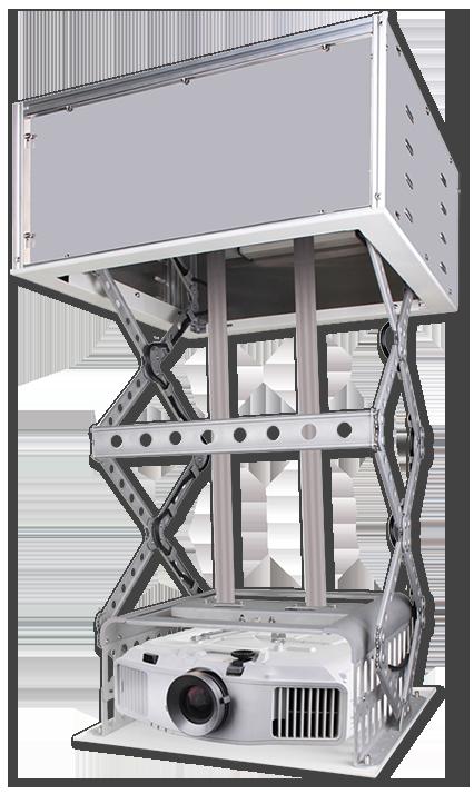 Grandview Recessed Ceiling Mount Slim Motorised Projector Lift