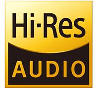 Hi-Res Audio via Network or USB