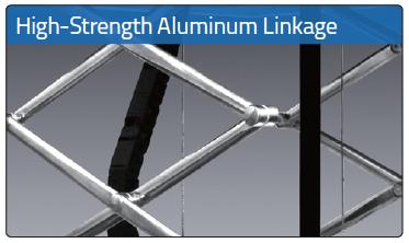 High-Strength Aluminium Linkage