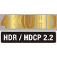 4K HDR HDCP 2.2