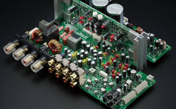 Onkyo's in-house-developed Switching Amplifier technology