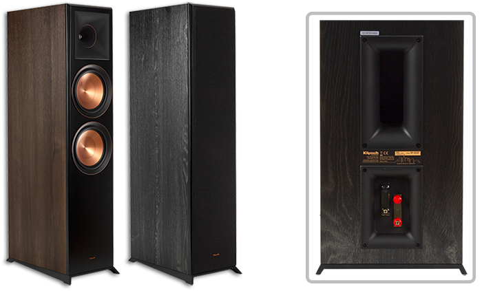 """Klipsch RP-8000F Dual 8"""" Cerametallic Floorstanding Speakers"""
