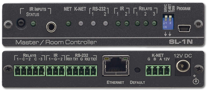Kramer SL-1N 7-Port Serial, IR & Relay, Ethernet Room Controller