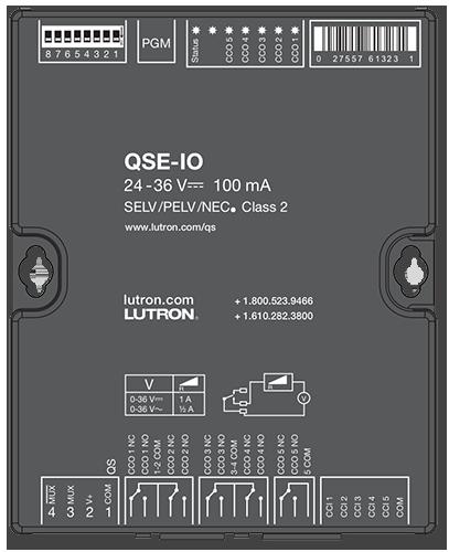 Lutron 5 Inputs 5 Outputs Contact Closure Interface