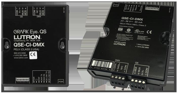 Lutron QS DMX Control Interface