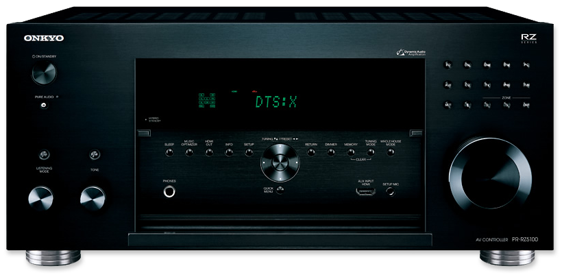 Onkyo PR-RZ5100 11.2-Channel THX Pre-Amp A/V Controller - front