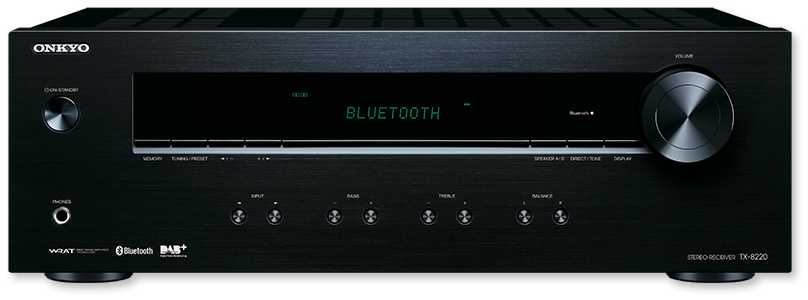 Onkyo TX-8220 2-Channel Stereo Receiver With Bluetooth