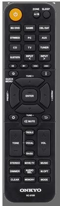 Onkyo TX-SR494 AV Receiver remote control