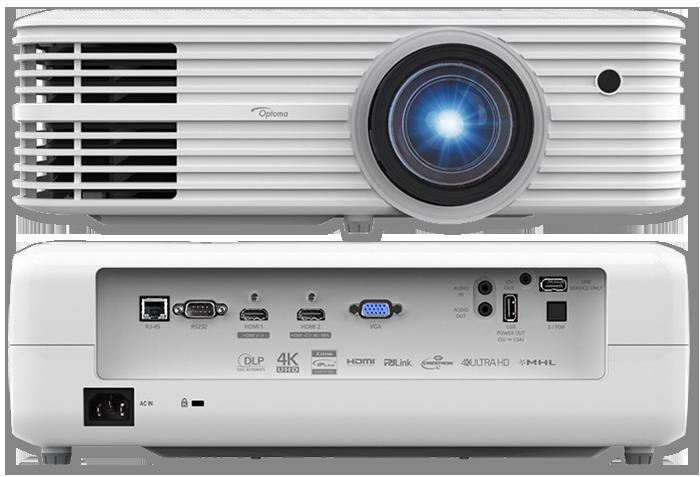 Optoma 4K550ST 4K UHD 4500 Lumen HDR 3D Professional Short Throw DLP Projector