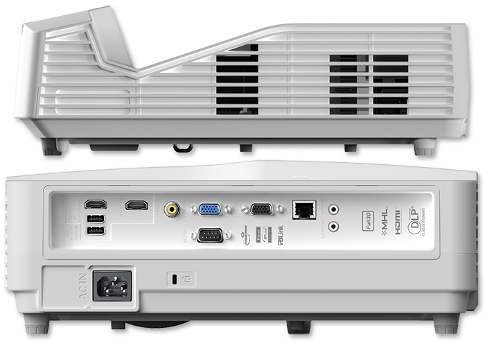 Optoma EH330UST 1080p Ultra Short Throw DLP Projector