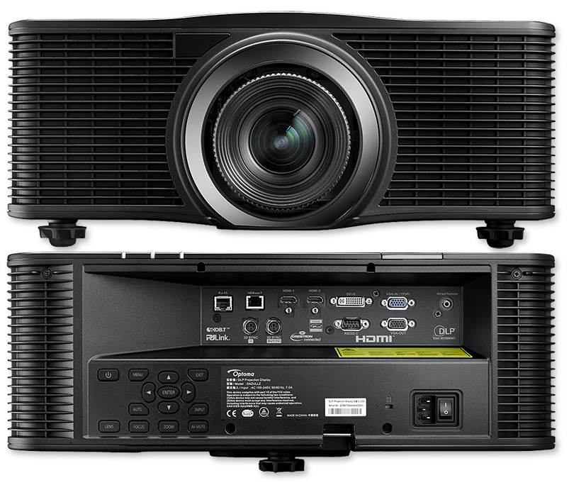Optoma ZU660 WUXGA 6500 Lumens ProAV Laser Projector
