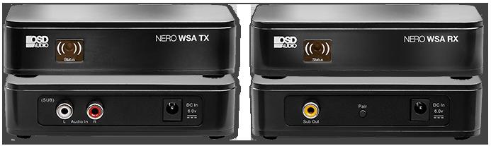 OSD NERO WSA Wireless Subwoofer Transmitter & Receiver Kit