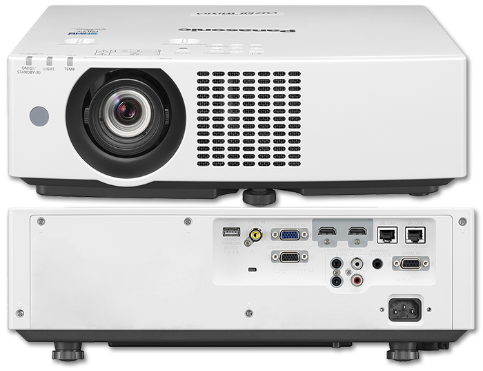 Panasonic PT-VMZ50 WUXGA 5000 Lumen Digital Link Portable 3LCD Laser Projector
