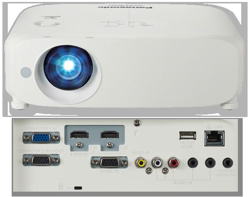 Panasonic PT-VW540 WXGA 5500 Lumens Portable LCD Projector  23fa588ba5f5