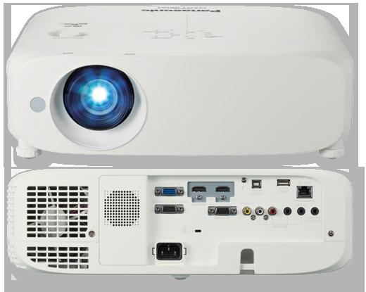 Panasonic PT-VW545N WXGA 5500 Lumens Digital Link Portable LCD Projector