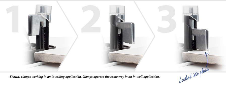 Paradigm - A Behind-the-Ceiling Look at Our Die-Cast Aluminum Clamps