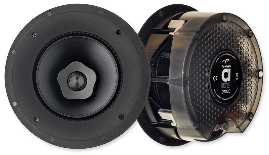 "Paradigm CI Elite E80-R 8"" 2-Way In-Ceiling Speaker"