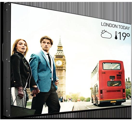 "Philips X-Line 55"" Full HD 700 Nits 1.8mm Bezel-to-Bezel Video Wall"