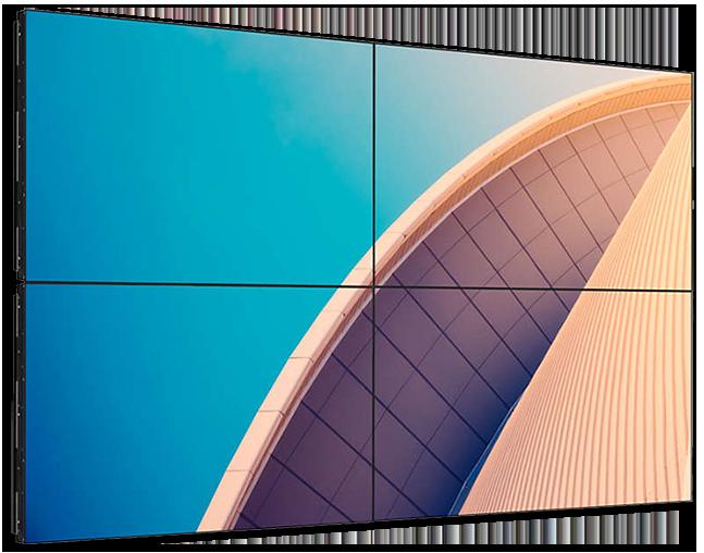 Philips X-Line Full HD 500 Nits Ultra-Narrow Bezel Video Wall