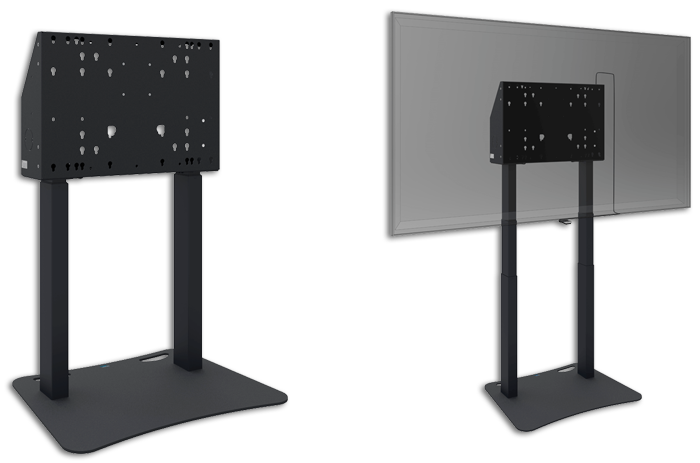 SmartMetals Freestanding Motorised Anti-Collision Floor Lift