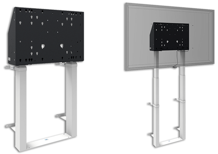 SmartMetals Motorised Floor Mounted XXL Display Wall Lift