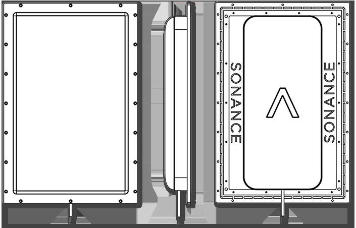 Sonance IS6/8 Motion Flex Invisible Speakers illustration