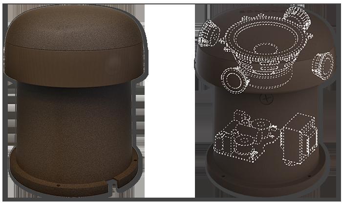 "Sonance OMNI-6T 6.5"" 70/100V 8 Ohm Omni-Directional Outdoor Speaker"