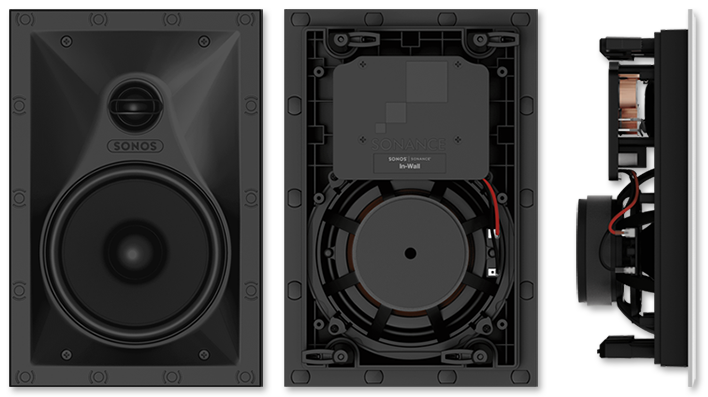 Sonos INWLLWW1 In-Wall Speakers by Sonance