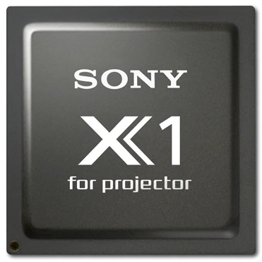 Sony X1 for projector chip