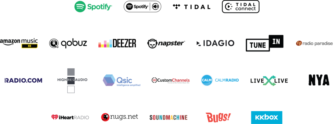 streaming services logo